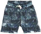 Molo Palms Print Cotton Shorts