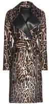 Tom Ford Printed Goat Hair Coat