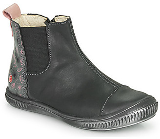 GBB ONAO girls's Mid Boots in Grey