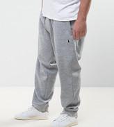 Polo Ralph Lauren Plus Cuffed Joggers Double Knit In Grey Marl
