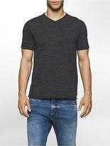 Calvin Klein Mens Slub V-Neck T-Shirt