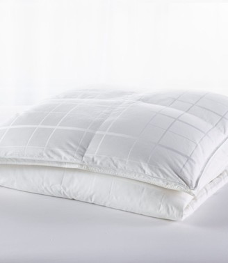 L.L. Bean Sateen White Goose Down Comforter, Warm