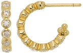 Temple St. Clair Eternity Hoop Earrings in 18K Yellow Gold with Diamonds, .60 ct. t.w.
