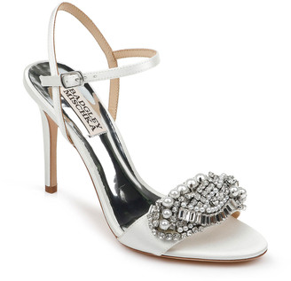 Badgley Mischka Odelia Satin Sandals