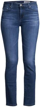 AG Jeans Mari High-Rise Straight Jeans
