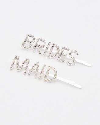 Le Château Brides & Maid Hair Clips Set