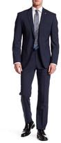 """Original Penguin Wool Blend Suit Separates Pant - 30-34\"""" Inseam"""