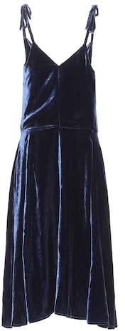 Golden Goose Tosca velvet dress