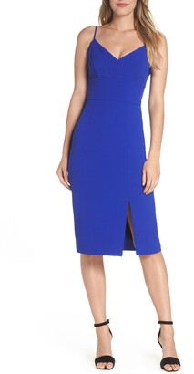 Eliza J Sleeveless Cocktail Dress