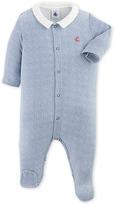 Petit Bateau Baby boys checkered pajamas