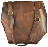 Kiko Leather Cross Over Tote Bag
