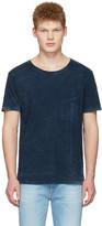 Nudie Jeans Indigo Ove Marble T-shirt