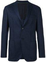 Z Zegna jacquard blazer jacket