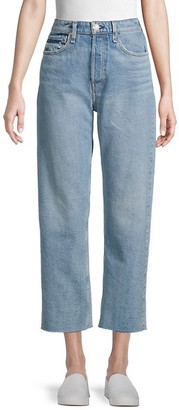 Rag & Bone Maya High-Rise Straight-Fit Ankle Jeans