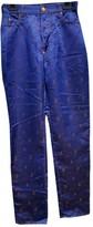 Jean Paul Gaultier Navy Trousers for Women Vintage