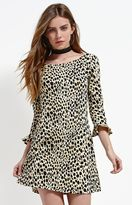 Motel Rocks Triton Cheetah Print Scoop Back Dress