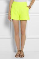 Giambattista Valli Neon tweed shorts