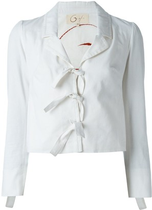 Romeo Gigli Pre Owned Tie Fastening Jacket