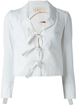 Romeo Gigli Pre-Owned Tie Fastening Jacket