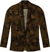 Scotch & Soda Printed Longline Blazer