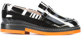 Carven stripe detail loafers