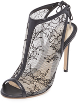 Monique Lhuillier Felicity Lace Heels