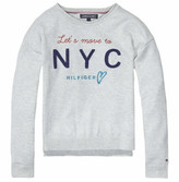 Tommy Hilfiger Girls Embro Cn Sweater L/S