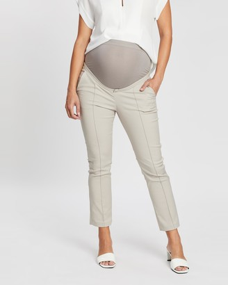 Seraphine Cressida Over-Bump Cropped Trousers