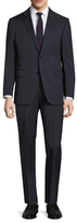 Ermenegildo Zegna Wool Pinstripe Notch Lapel Suit