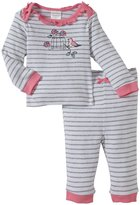 Absorba Bird Layette Set (Baby) - Gray/Pink-6-9 Months