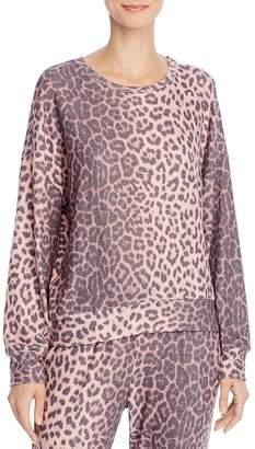 Sundry Animal-Print Sweatshirt