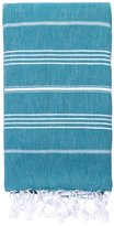 Turkish T Turkish-T Basic Towel Terry-Lined with Zipper Pocket - Teal
