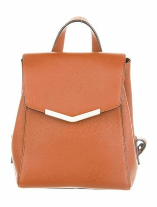 Time's Arrow Harper Leather Backpack Brown