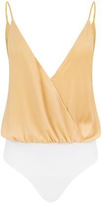Saint Body Light Back Bodysuit gold yellow