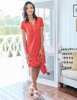 Boden Clio Broderie Jersey Dress