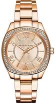 Michael Kors MK6330 Mini Bryn Rose Gold Stainless Steel wDiamonds Rose Gold Dial 38mm Women