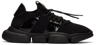 Moncler Black Bubble Sneakers