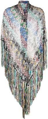 Missoni Crochet-Knit Wrap Scarf