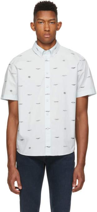 Rag & Bone Blue Smith Shirt