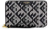 Henri Bendel West 57th Modern Monogram Travel Organizer Wallet
