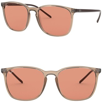 Ray-Ban 56mm Square Sunglasses