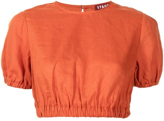 STAUD Athena crop top