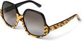 Vivienne Westwood Tiger Reversed Frame Sunglasses VW50105