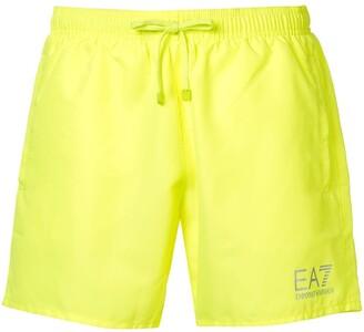 EA7 Emporio Armani Woven Swim Shorts