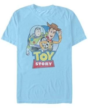 Disney Pixar Men's Toy Story Buzz Woody Buddies, Short Sleeve T-Shirt