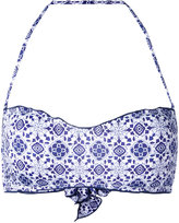 MC2 Saint Barth 'Libra' printed bikini top - women - Polyamide/Spandex/Elastane - S