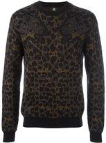 Paul Smith leopard pattern jumper