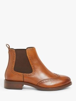 John Lewis & Partners Phoenixx Leather Wide Fit Chelsea Boots
