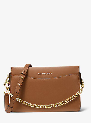 MICHAEL Michael Kors Jet Set Large Leather Chain Crossbody Bag