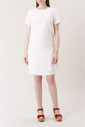 Hobbs Womens White Eleni Dress - White